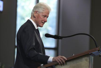 Bill Clinton es hospitalizado debido a una infección