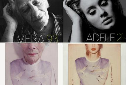 Adultos mayores recrean las portadas musicales más icónicas