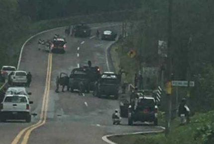 Atacan a elementos de la Sedena y GN en carretera Toluca-Altamirano