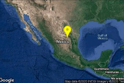 Reportan sismos de 4.5 con epicentro en Coahuila
