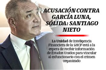 Acusación contra García Luna, sólida: Santiago Nieto