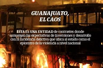 Guanajuato, el caos
