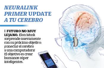 Neuralink primer update a tu cerebro