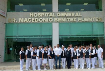 Confirman más de cien contagios de Covid-19 en hospital de Oaxaca