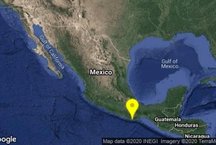 Se registran 2 sismo en Oaxaca; son perceptibles en Puerto Escondido