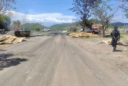 GN realiza operativo en El Aguaje, Michoacán, por enfrentamientos