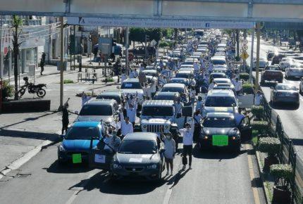 Protestan en Celaya por multihomicidio en verificentro