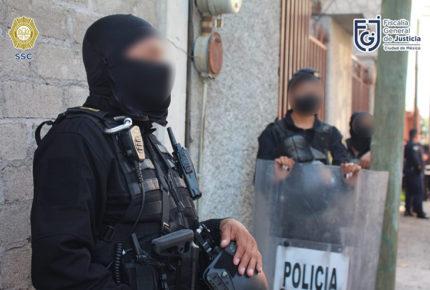 """Detienen a 10 supuestos integrantes de """"Los Rodolfos"""" en Xochimilco"""