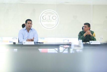 Pactan Diego Sinhue y Federación blindar Guanajuato