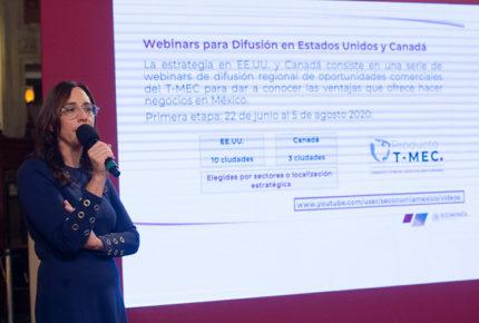 Presenta Secretaría de Economía el Plan de Difusión del T-MEC