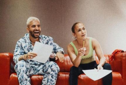 Jennifer López y Maluma preparan colaboración musical