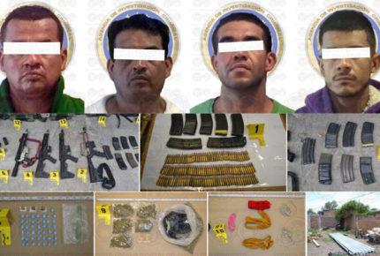 Detienen a banda de secuestradores en Salamanca, Guanajuato