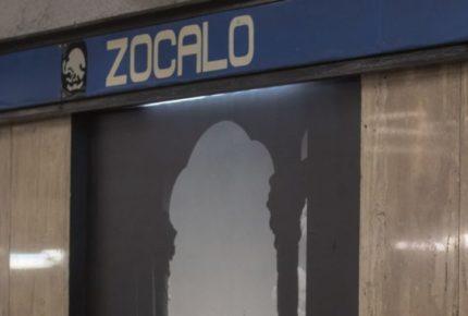 Metro Zócalo dará servicio con horario especial este lunes