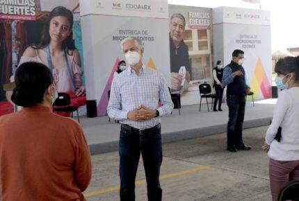 Inició entrega de apoyos para mexiquenses desempleados