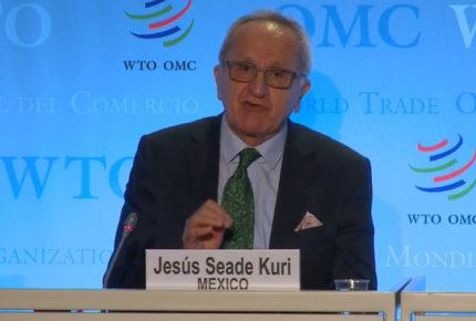 Seade Kuri se propone como intermediario comercial entre EU y China