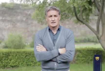 Renuncia Miguel González como director técnico de Pumas