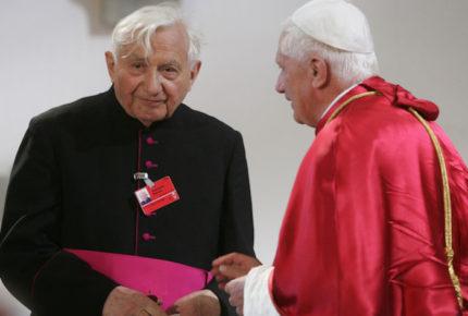 Fallece Georg Ratzinger, hermano del papa Benedicto XVI