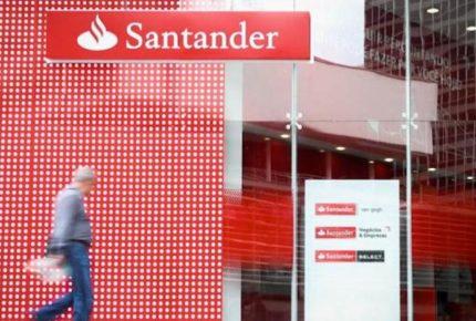 Banco Santander registra pérdidas por 11 mil 130 mde