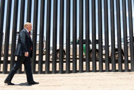 Trump visitará muro fronterizo antes de dejar la presidencia