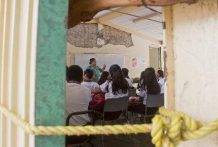 Sismo de Crucecita, Oaxaca, daña 660 escuelas