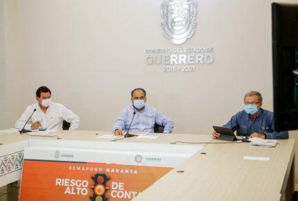 Guerrero refuerza labor de sanitización para frenar al Covid-19