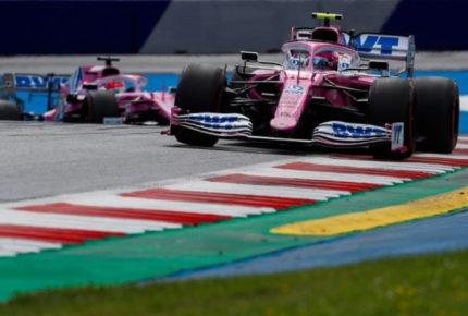 """Investigarán monoplaza de """"Checo"""" Pérez de Racing Point"""