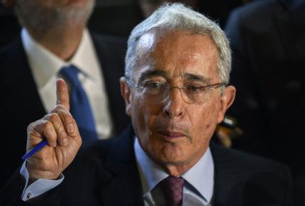 Ex presidente de Colombia, Álvaro Uribe da positivo a Covid-19