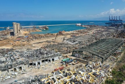 Galería   Explosión en Beirut ¡genera un cráter!