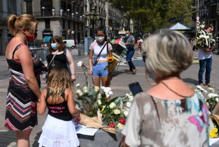 Pandemia marca aniversario por atentados de Cataluña