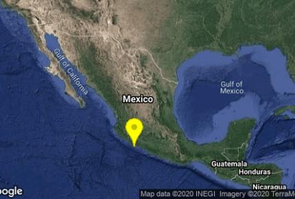 Sismo en Michoacán se percibe en CDMX