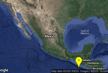 Sismo de 5.7 sacude Chiapas