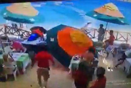 Video   Moto acuática embiste y mata a vendedora en Los Cabos