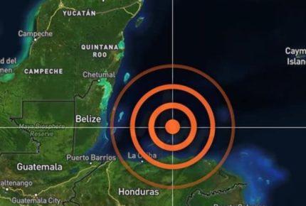 Sismo magnitud 5.7 en el mar Caribe sacude a Cancún y Chetumal