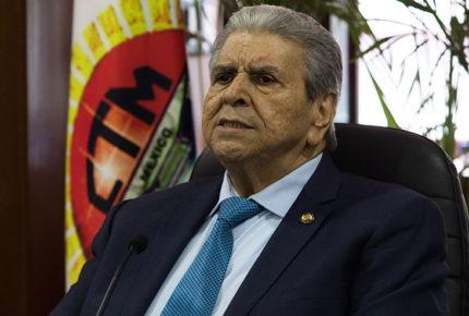 Fallece hermana de Carlos Aceves del Olmo, líder de la CTM