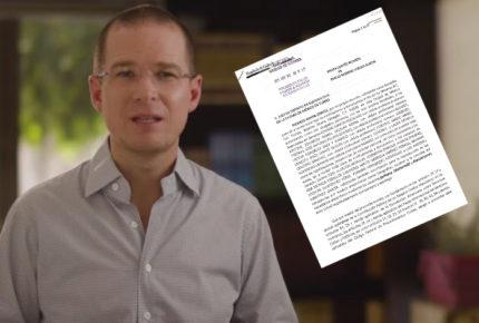 Ricardo Anaya demanda a Emilio Lozoya