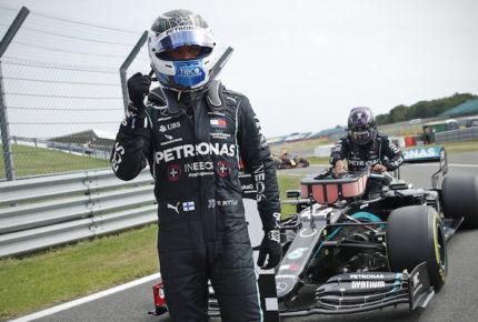 Bottas se lleva la pole position en el GP de los 70 años de la F1