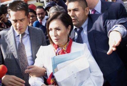 Robles critica desconocimiento de AMLO sobre su caso