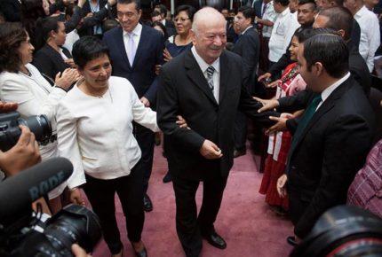 Renuncia al PRI José Patrocinio González, exgobernador de Chiapas