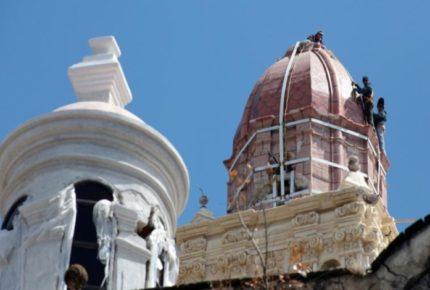 A 3 años del sismo, sin restaurar mil 200 monumentos históricos