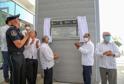 Guerrero inaugura nueva área en C5, uno de los más modernos del país