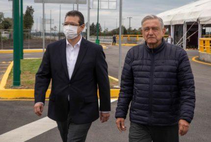 AMLO inaugura Paso Vehicular Ocotoxco en Tlaxcala