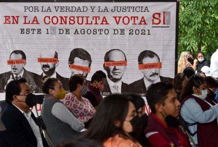 Acusa Mier a derecha, INE y grupos de poder de boicotear consulta
