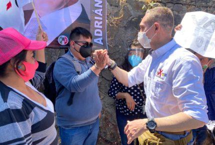 Adrián Rubalcava arranca campaña por la alcaldía Cuajimalpa