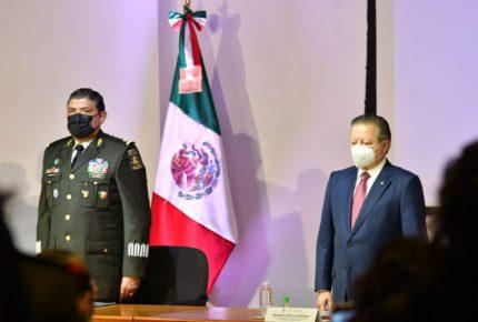 Ministro Zaldívar reconoce labor del Ejército contra la delincuencia