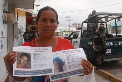 Secuestran a líder de búsqueda de desaparecidos en Veracruz
