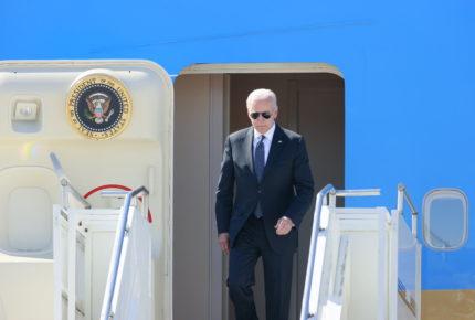 Biden llega a Ginebra de cara a su encuentro con Putin