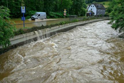 Suman 42 muertos por fuertes lluvias en Alemania