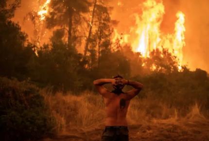 Lluvias dan un respiro, pero sigue lucha contra incendio en Grecia