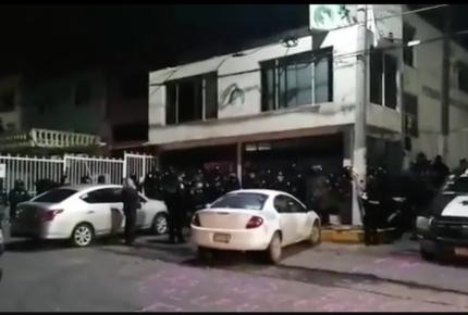Libres, detenidas por toma de Codhem; Del Mazo señala a Fiscalía