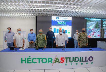 Éxito en disminución de delitos en Guerrero, por coordinación: Astudillo